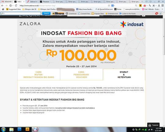 Kebohongan Penipuan Public Promo Indo T Fashion Big Bang Oleh