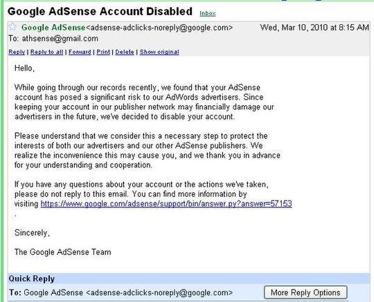 [share] setelah diputus, kemudian naik banding adsense, dan akhirnya diterima Google