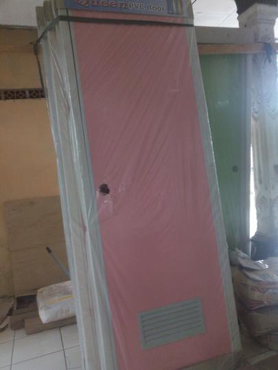 Terjual Jual PVC door pintu untuk kamar  mandi Murah