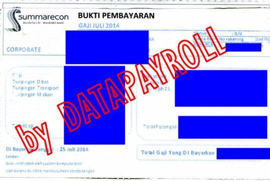 Terjual Jasa Pembuatan Slip Gaji Carbonized Berwarna Original Seller Pertama Kali Kaskus