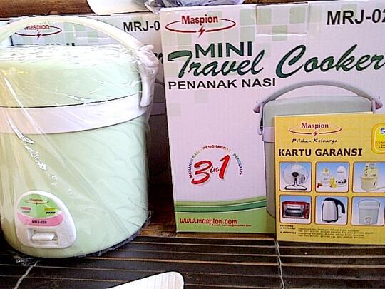 Terjual Rice Cooker KECIL MINI Ringan Cocok Buat Baby Dan