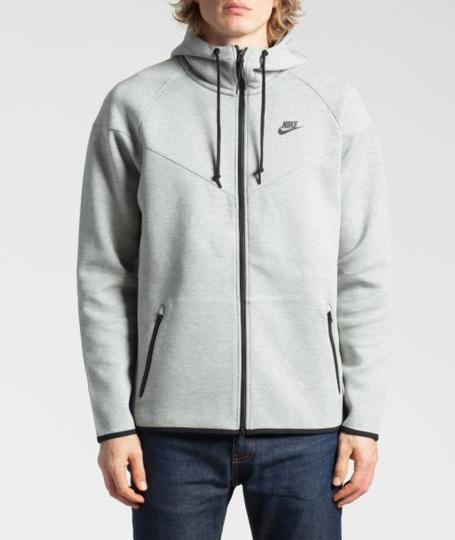 Terjual Wts Original 100 Nike Tech Fleece Wind Runner Jacket Hoodie Light Grey Kaskus
