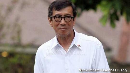 Diprotes DPR soal PPP, Menkumham Mengaku Jalankan Perintah Jokowi