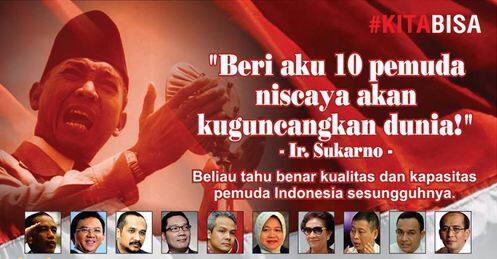 Presiden Soekarno Beri Aku 10 Pemuda Niscaya Akan Kugunc