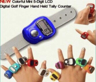 Tasbih Digital Mini / Finger Counter / Penghitung Digital / Tally Counter - Penghitun