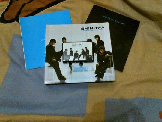 SHINHWA DIGITAL DISC 8TH JIB STATE OF ART (SECOND)