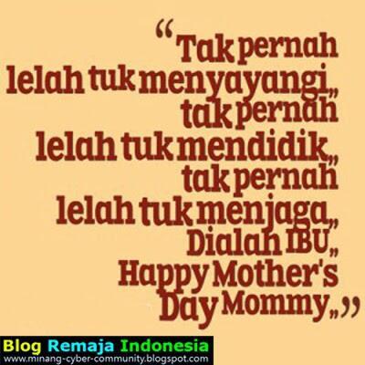 Gambar Kata Kata Ucapan Selamat Hari Ibu Buat Dp Bbm Kaskus