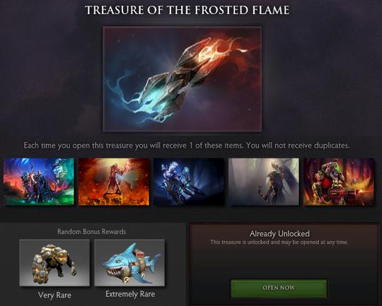 Compendium Immortal Items: Terjual Dota 2 Item Hero Set