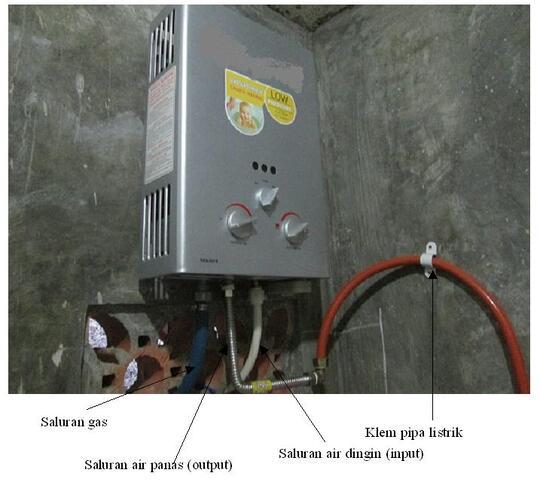 Water Heater Gas Merk Ri Ai Plus Pemasangan Kaskus