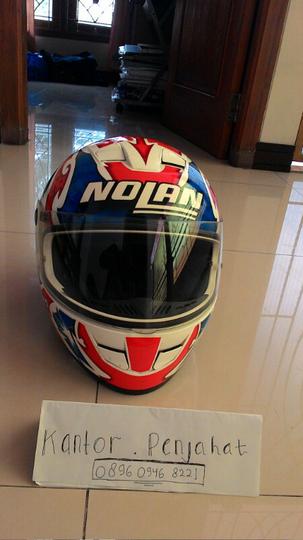 Terjual Helm Fullface Nolan N62 Casey Stoner Murah Bukan Agv Shoei Arai Hjc Kaskus