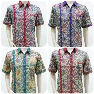 Baju Batik Kerja Cowok: Terjual Baju Batik Kerja Pria