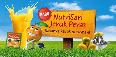 Segarnya NutriSari Jeruk Peras, Rasanya Kayak Di Rumah