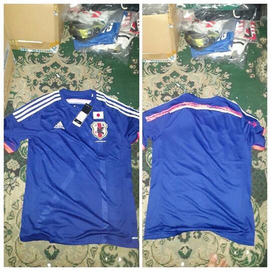 Jersey Original Adidas JERMAN Jepang Rusia Argentina Spanyol Mexico 2014  World CUp 5dbce60885af6