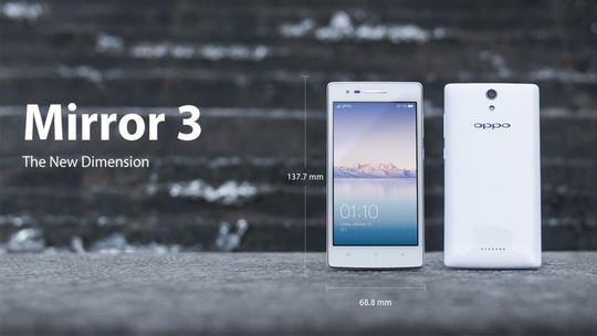 [OFFICIAL LOUNGE] OPPO Mirror 3 - The New Dimension