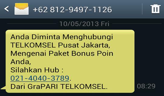 Cara Blokir No Sms Penipuan Di 3 Provider Telkomsel Xl Indosat