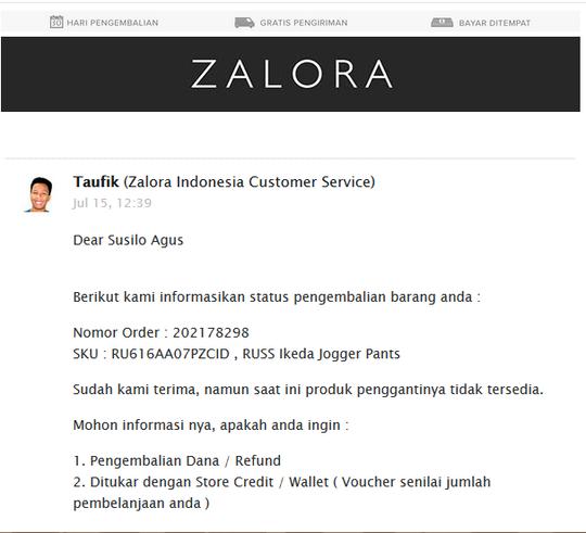 Bukan Hanya Belanja Di L Z D Di Zalora Indonesia Juga Apes Kaskus
