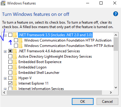cara install net framework 3.5 windows 10 secara offline