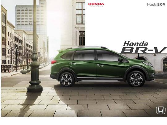 Honda BR-V Only the Braver @Kaskus