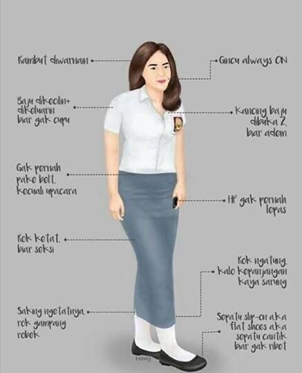 Style atau Gaya Anak Cewek SMA 2016
