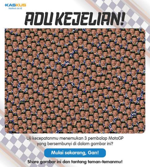 Apakah Agan MotoGP Banget? Tes Dulu di Sini, Bisa Dapet Badge!