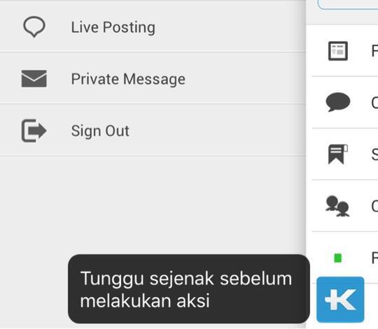 *** Kritik, Saran, Report Bugs Kaskus App, Kaskus Jual Beli dan Kaskus Chat ***