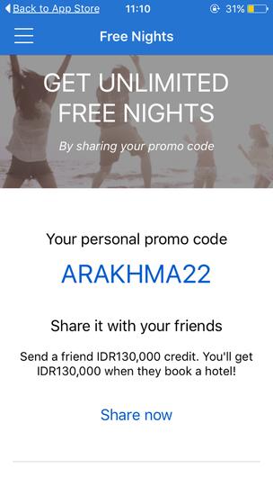 Bermalam Dihotel Gratis Ala Promo Code Go-Jek (Hotel Quickly Free Saldo)
