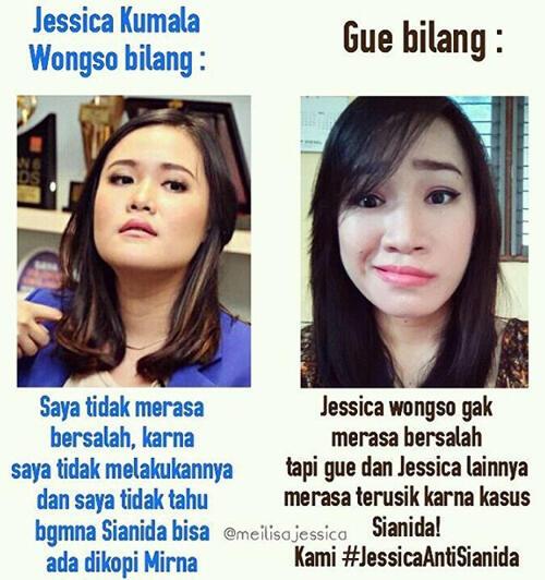 Klo Ane Jd Pembunuh Mirna Stories Of Wayan Mirna Salihin