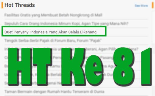 Duet Penyanyi Indonesia Yang Akan Selalu Dikenang Kaskus