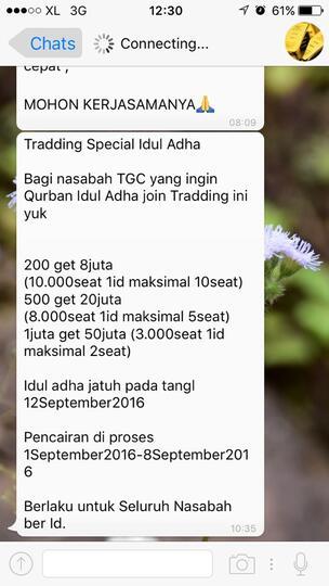 Penipuan Trading Gold Ala Tgc Kaskus