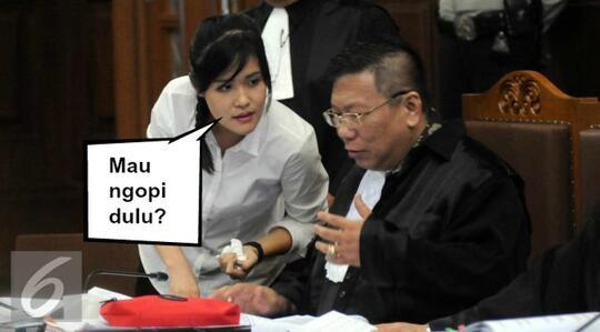 Gila Sidang Jessica Udah Mirip Sinetron Gan!