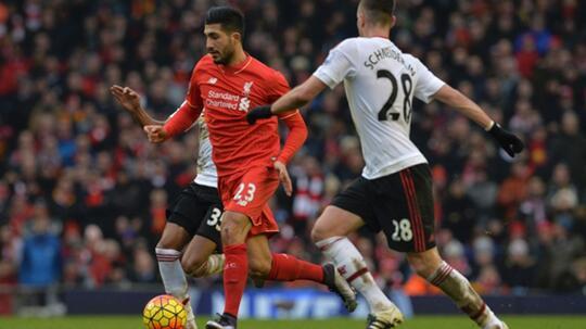 Live Liga Inggris 16/17: Liverpool VS Manchester United