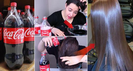 Image result for cocal cola untuk rambut