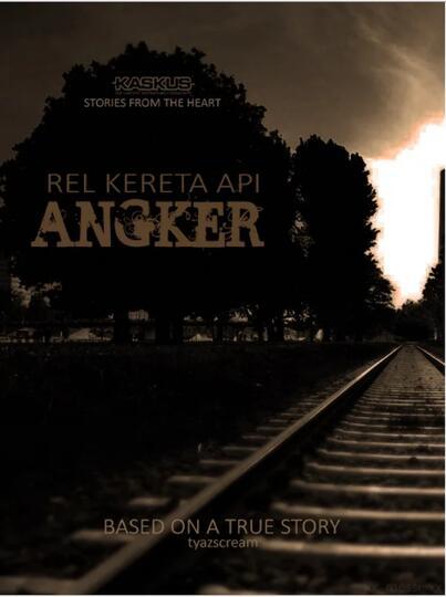 "REAL HOROR STORY ""Rel Kereta Api Angker"""