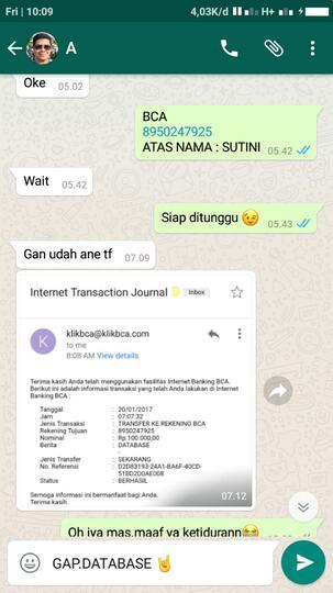 Yuk Ikutan Bisnis Database Kaskus