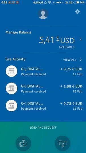 Sehari 2$ cuma instal aplikasi dan di diemin aja :) wd via paypal