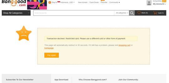 Panduan Vcn Bni Debit Online Buat Belanja Di Toko Online Yang Terima Mastercard Page 133 Kaskus