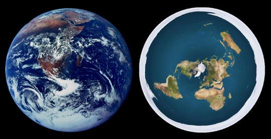 Nah loh Astronotnya Sudah Jawab, Bumi Datar VS Bumi Bulat