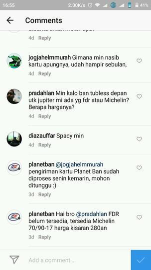 Surat terbuka untuk PT. Surganya Motor Indonesia selaku pemilik Planet Ban