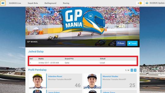 Live Update GP Mania 2017 Red Bull Ring Austria