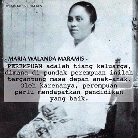 Maria Walanda, Pejuang Emansipasi Perempuan dari Timur Indonesia