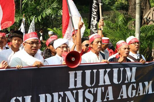 Deretan Foto Aksi 55 yang Berlangsung Hari Ini