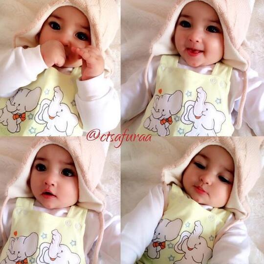 Bayi Perempuan Ini Menarik Perhatian Karena Wajahnya Yang Cantik