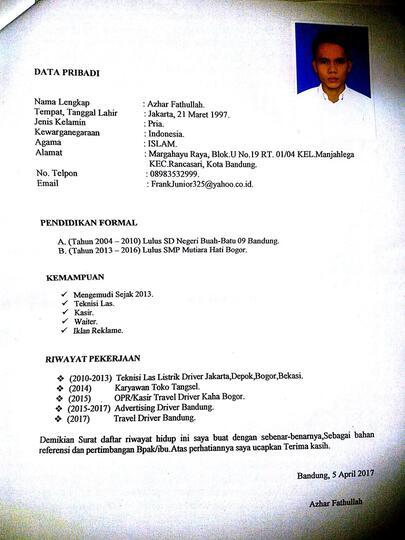 Lowongan Kerja Supir Pribadi Jakarta Timur Kaskus