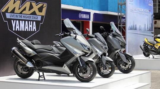 Yamaha TMAX Kemungkinan Meluncur Akhir 2017