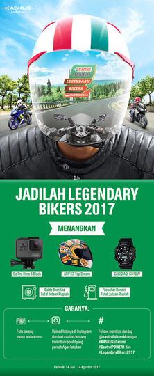 Buktikan Bahwa Kamu Memang Legendary Bikers 2017 Sejati di KasQuiz Ini!