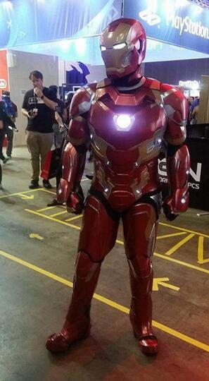 Kostum Iron Man yang Dibuat dengan 3D printer Ini Persis Aslinya Gan!