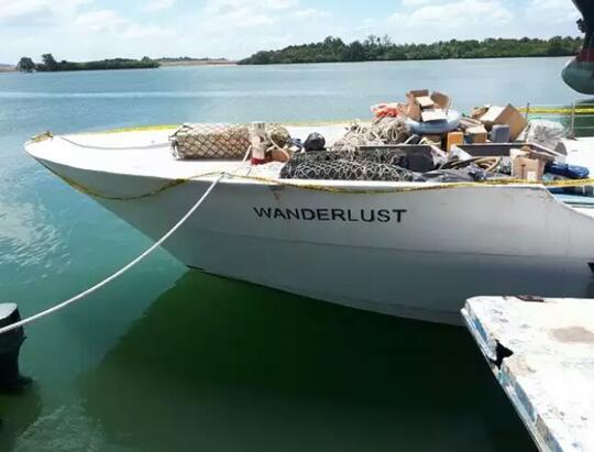 Ini Kapal yang Diduga Membawa Sabu 1 Ton ke Indonesia