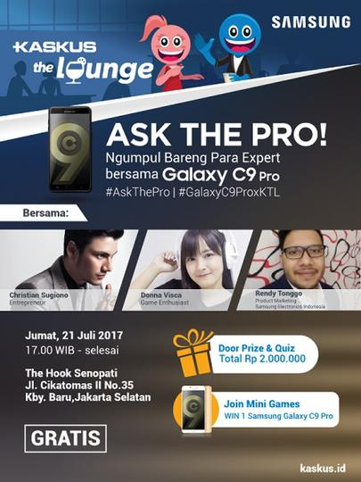 Yuk Ngumpul Bareng Para Expert di KASKUS The Lounge Bulan Ini Gan!