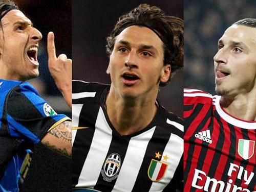 Deretan Pemain yang Pernah Berseragam Inter, Milan, dan Juventus