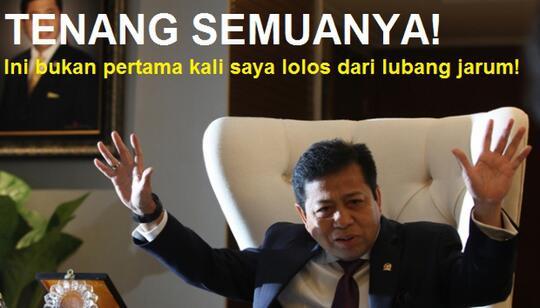 [Breaking News] KPK Tetapkan Setya Novanto Tersangka Kasus E-KTP